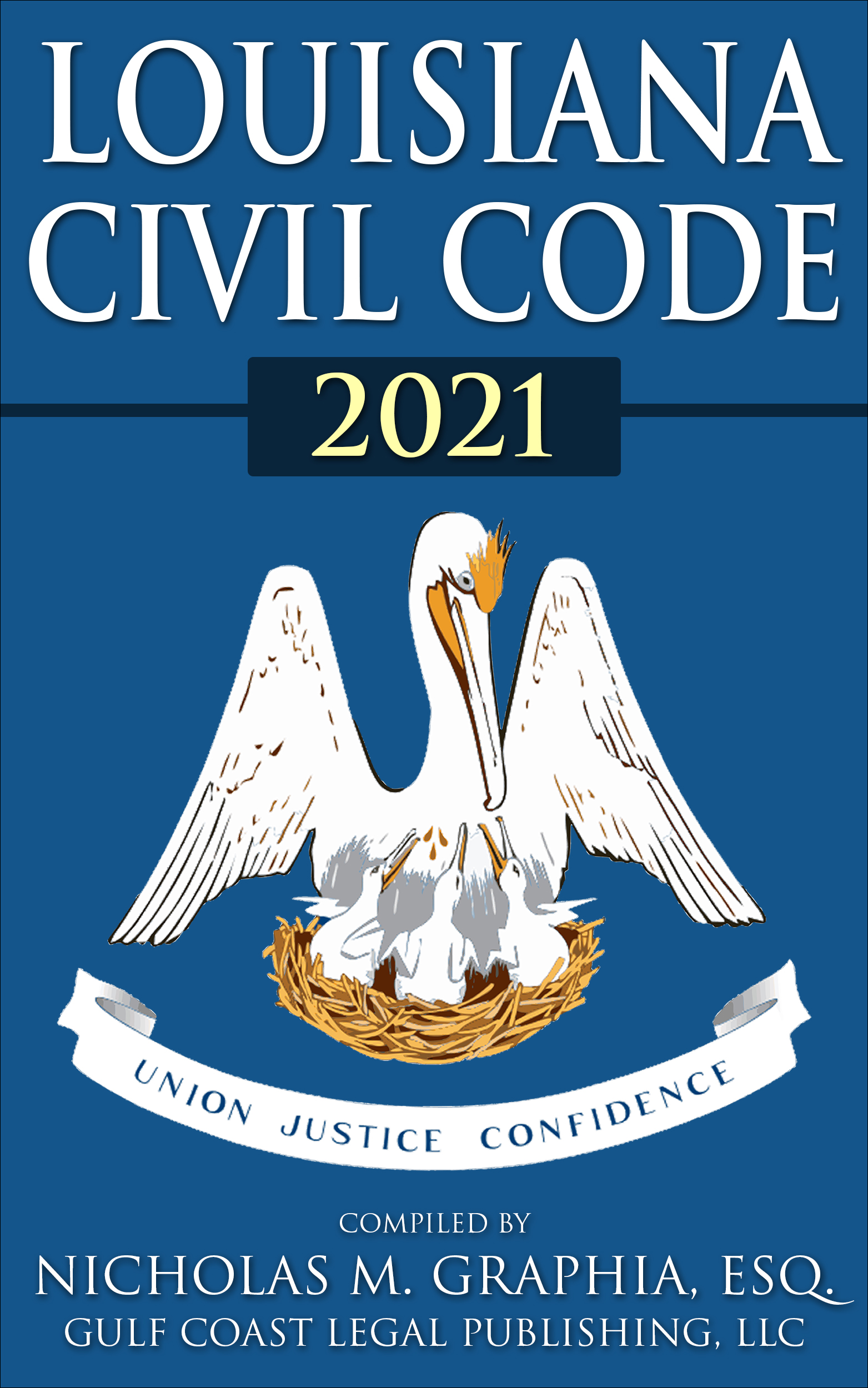 2021LouisianaCivilCodeEbookCover