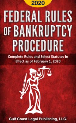 FederalRulesofBankruptcyProcedure2020Cover